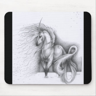 Unicorn Sketch Mousepad