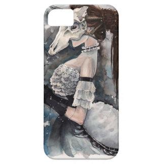 Unicorn Skull Masquerade iPhone SE/5/5s Case