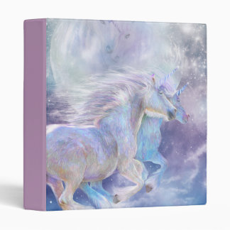 Unicorn Soulmates Art Binder