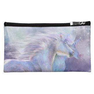 Unicorn Soulmates Art Cosmetic Bag