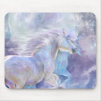 Unicorn Soulmates Art Mousepad