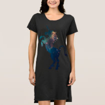 Unicorn Space Pattern Dress