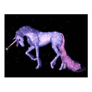 Unicorn Sparkles Postcard