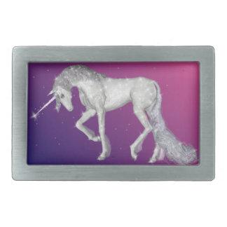 Unicorn Sparkles Rectangular Belt Buckle
