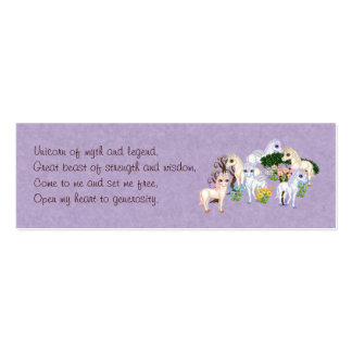 Unicorn Spell Card