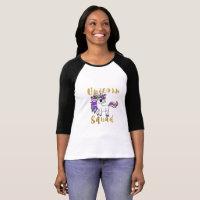 Unicorn Squad, Colorful Pony T-Shirt