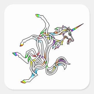 Unicorn Square Sticker
