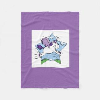 Unicorn Star Blanket