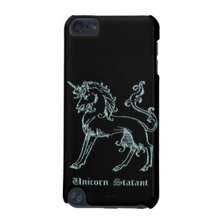 Unicorn statant medieval heraldry iPod touch (5th generation) case