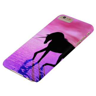 Unicorn Sunset Barely There iPhone 6 Plus Case