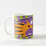 Hand shaped Unicorn Sweet Candy Horn Coffee Mug