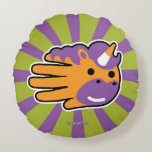 Hand shaped Unicorn Sweet Candy Horn Round Pillow