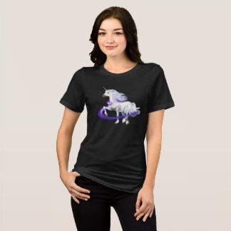Unicorn Swirl Star Graphic Design T-Shirt