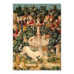 Unicorn Tapestries Medieval Art Announcements