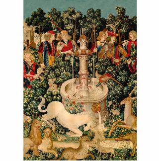 Unicorn Tapestries Medieval Art Cutout