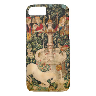 Unicorn Tapestries Medieval Art iPhone 7 Case
