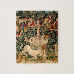 Unicorn Tapestries Medieval Art Jigsaw Puzzle