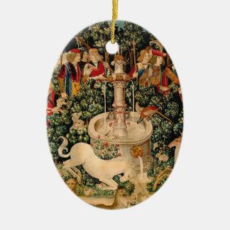 Unicorn Tapestries Medieval Art Ornaments