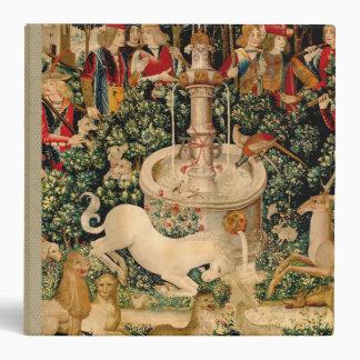 Unicorn Tapestries Medieval Art Vinyl Binders
