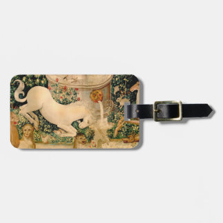 Unicorn Tapestries Medieval Hunting Tags For Luggage