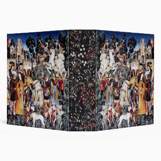 Unicorn Tapestry #6 binder 2in