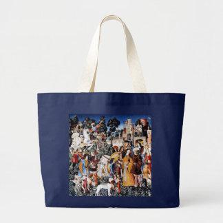 Unicorn Tapestry #6 Large Tote Bag