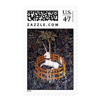 Unicorn Tapestry #7 postage stamp