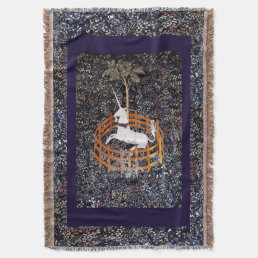 Unicorn Tapestry #7 Throw Blanket