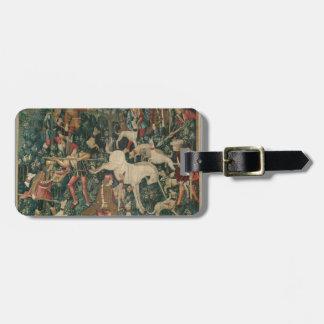 Unicorn Tapestry Bag Tag