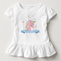 Unicorn tee shirt -