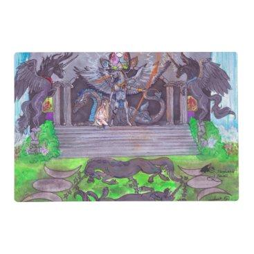 pegacorna Unicorn Temple Placemat