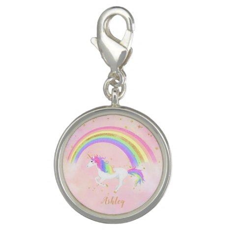 Unicorn theme charm | Magical Pink & Gold