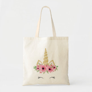 Unicorn Tote Bag, Glitter Tote Bag