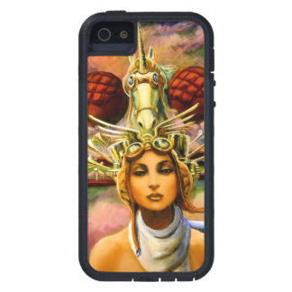 Unicorn Traveling Headgear Case For iPhone SE/5/5s