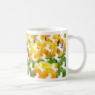 Unicorn Tulip Party Coffee Mug