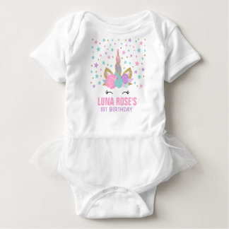 Unicorn Tutu Bodysuit Unicorn Birthday Outfit