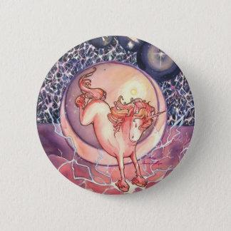 Unicorn, Universe Pinback Button