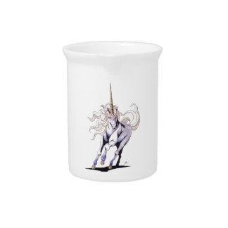 Unicorn violet beverage pitchers