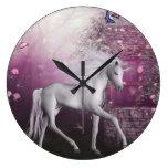 unicorn wallclock