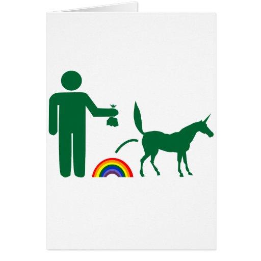 Unicorn Waste (Image Only) Cards