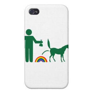 Unicorn Waste (Image Only) iPhone 4/4S Cover