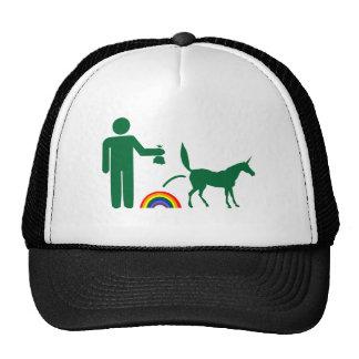 Unicorn Waste (Image Only) Mesh Hat