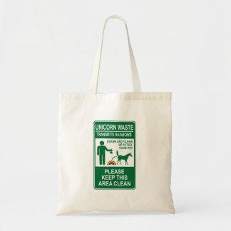 Unicorn Waste Sign Bag
