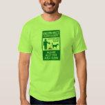 Unicorn Waste Sign T-shirts