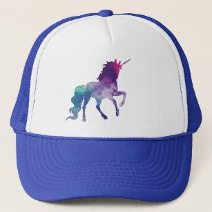 Unicorn Watercolor Silhouette Trucker Hat 4a95fd1741f8