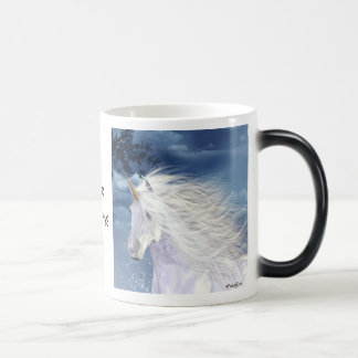 Unicorn White Beauty Magic Mug