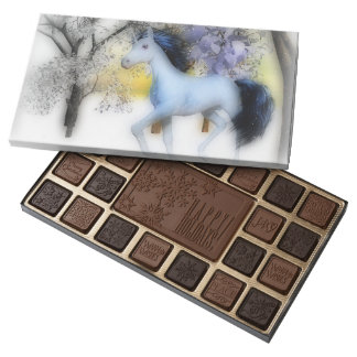 unicorn winter play box of chocolates