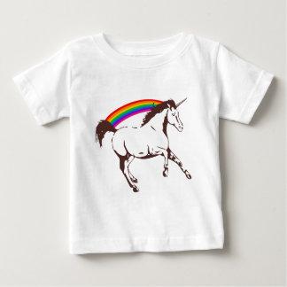 Unicorn with rainbow baby T-Shirt