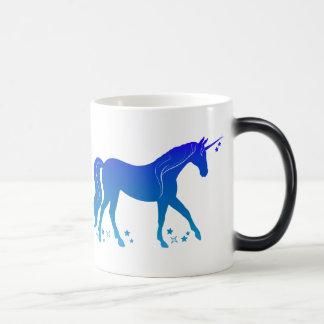 Unicorn with Stars Magic Mug