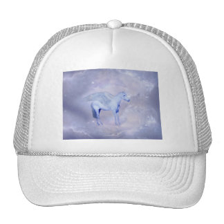 Unicorn with wings fantasy hats